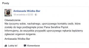 bar wrocław negatywne opinie influencera