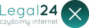 LEgal24 Czyścimy internet logo